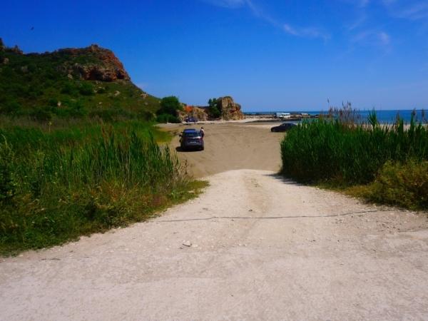 Плаж Болата, Българево