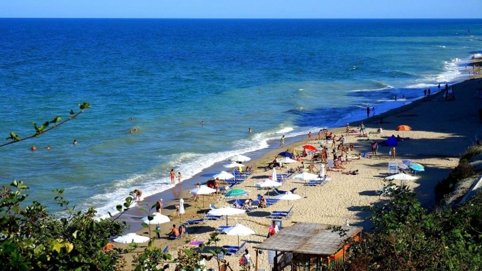 Изглед плаж Бяла