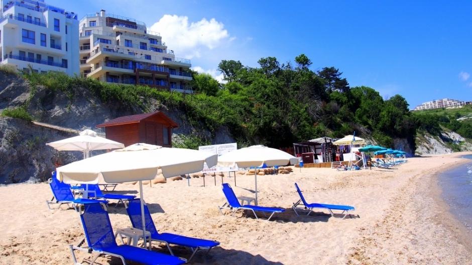 изглед плаж Бяла Виста
